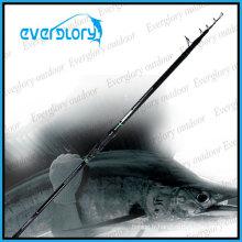 Tige de pêche recommandée de carbone Tele Surf Rod