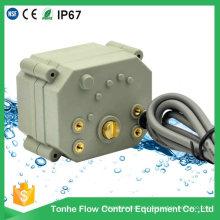 4-20mA 3 fios 5 fios modulando mini atuador elétrico de válvula motorizada