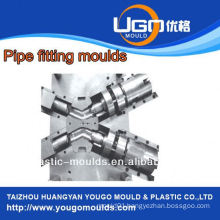 High quality good price plastic mould factory for standard size u trap fitting mould in taizhou China