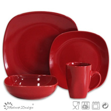 Popular Design 16PCS Dinner Set in Square Shape