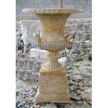 Stone Marble Flowerpot for Garden Decoration (QFP277)