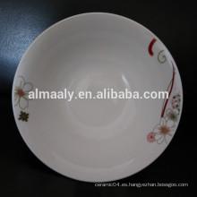 tazón de fuente de cerámica antiguo al por mayor