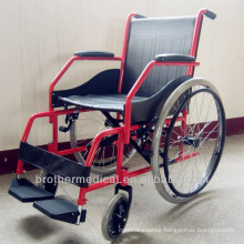 Slope Armrest folding wheel chair handicapped Wheelchair BME4620