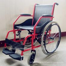 Slope Armrest cadeira de rodas dobrável cadeira de rodas deficientes BME4620