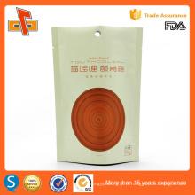 Impression OEM pochette plastifiée plastifiée verrouillable pochette resellable
