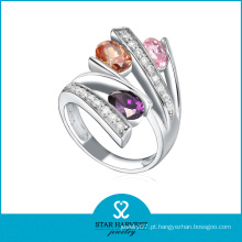 Coloridos, prata esterlina, prata, índice, dedo, anéis