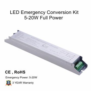 Kit de conversão de emergência de LED de potência total