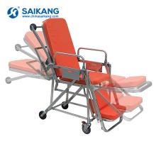Trole médico da maca da ambulância conveniente do hospital de SKB039 (E)