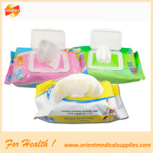 disposable Allergen-free  baby wet wipes