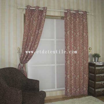 linen cheap pirce fabric curtain 6003-4