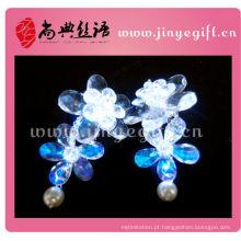 Jóia cultural Shangdian trabalhada diamante brincos góticos