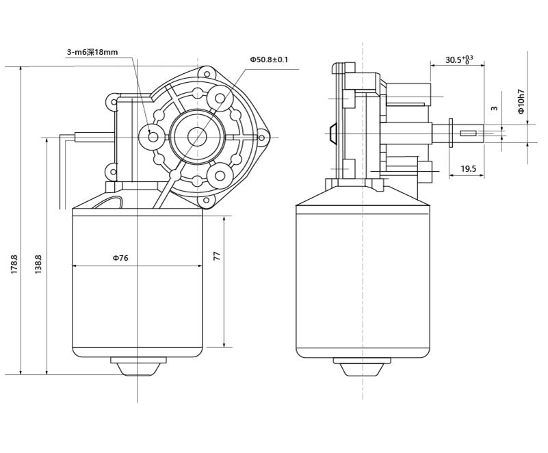 Gear Motor Zd76