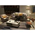 Европа стиль ткань диван, современный диван, простой дизайн диван (M609)