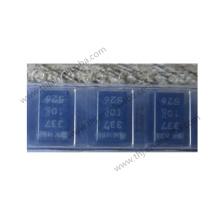Capacitor Tantalum Polymer 330uF 10VDC X CASE 20% (7.3 X 4.3 X 4mm) SMD 7343-43 0.01 Ohm 125 C T/R RoHS  T530X337M010ATE010