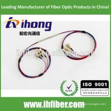 Acoplador ótico da fibra FBT 3x3 fundido