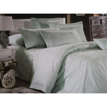 100% Cotton or T/C 50/50 Jacquard Hotel/Home Bedding Set (WS-2016066)
