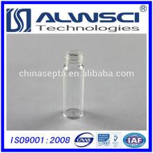 Fabricación de 20 ml de frasco de almacenamiento transparente con tapas de 24-400 PP