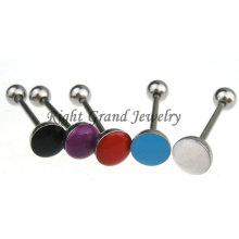 6 mm Epoxy acero inox lengua anillos