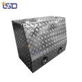 Caja de herramientas de metal de placa de aluminio portátil de remolque de Camper para camión