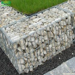 Heavy galvanized wire mesh garden fence gabion box