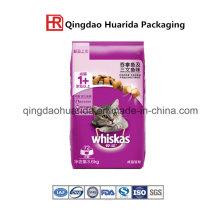 Heavy Duty Quad-Seal Bolsa de envasado de alimentos para perros con cremallera