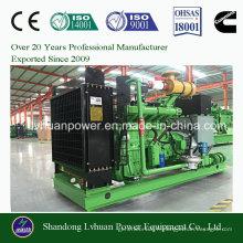 Générateur de gaz de biomasse de l'énergie verte 400 kilowatts avec le prix de fabrication de la Chine