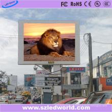Tablero de LED a todo color al aire libre P6 HD para hacer publicidad