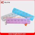Latest Design Plastic 7-Cases Pill Box (KL-9078)