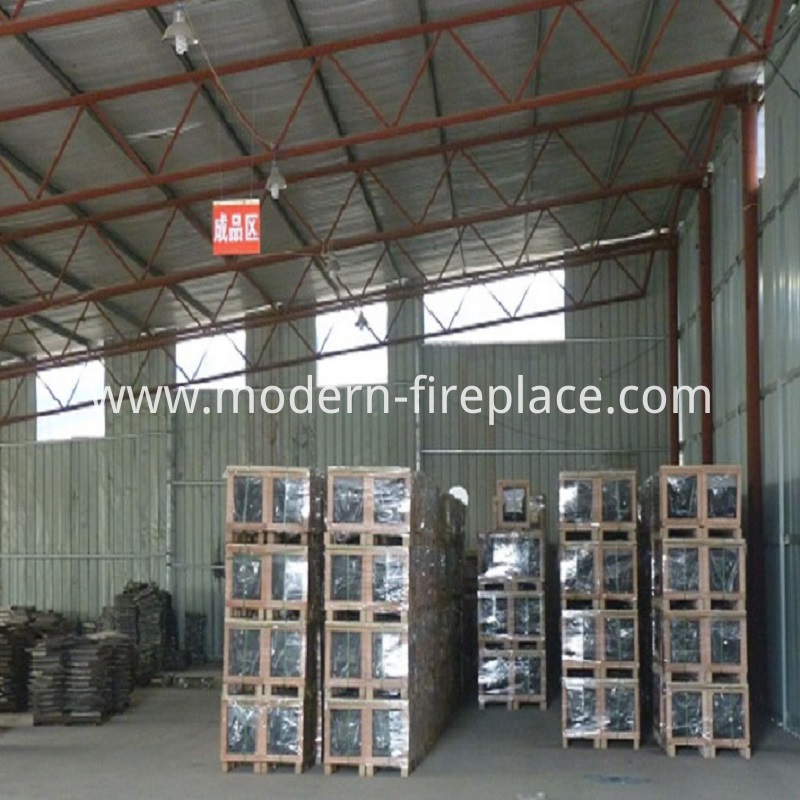 Finished Wood Burning Stoves Factory