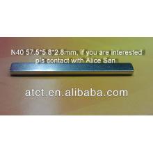 NdFeB Magnet Streifen/starke magnetische Streifen