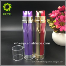 30ml 50ml 100ml double pump head acrylic airless bottle