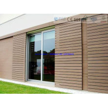 158*20mm Wood Plastic Composite Wall Cladding