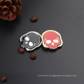 Skull Ring Holder for smart phone,mobile phone holder ring with 360 rotation