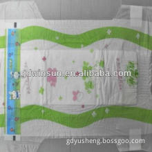 Stock high quality populer soft lovely cheap baby diaper