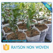 recycelte nicht gewebte Pflanzentopfabdeckung