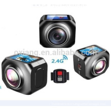 12MP/360VR Waterproof Sport DV 1440p/30fpsAction Camera with WiFi Watech Remote Control 220 Degrees Wireles Video camera