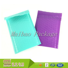 Custom Designed 10x13 Teal Purple Color Matte Jiffy Bag Poly Padded Bubble Mailers Bulk