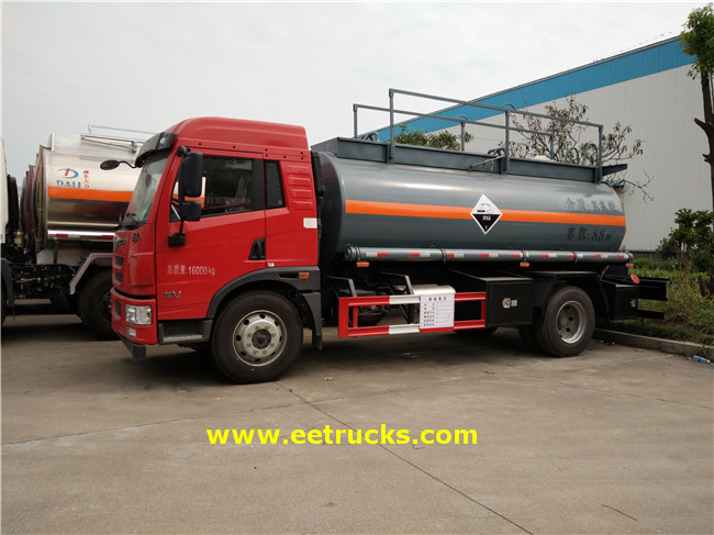 FAW Hydrochloric Acid Transport Trucks
