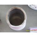 Wear-resisting transport ash/powder pipe
