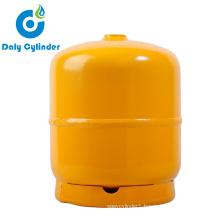 DOT CE ISO4706 2kg LPG Gas Tank for The Middle East