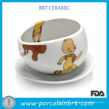 Cute Coffee Set Ceramic Hug Mug
