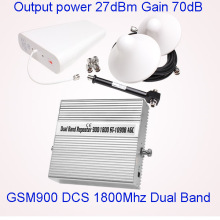 Smart 2g 3G 850/1900MHz Dual Band Signal Booster 2g 3G 4G Cell Phone Signal Repeater for 2g 3G
