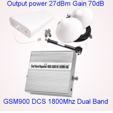 Dual-Band GSM 900 1800 Repeater Mobile Signalverstärker Handy Service Booster