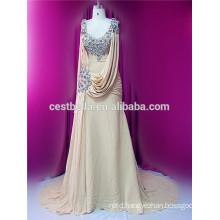 2016 Fashion elegance muslim wedding dress