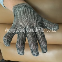 Butcher Safety Stainless Steel Chain Mail Gloves