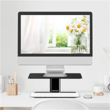Sit Stand Monitor Riser com armazenamento