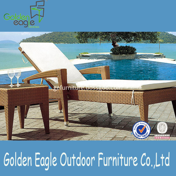 aluminium wicker modern outdoor furniture