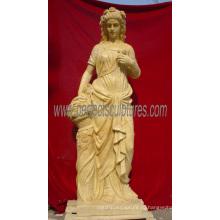 Статуя статуи из резного каменного скульптура с мраморным песчаником (SY-X1152)