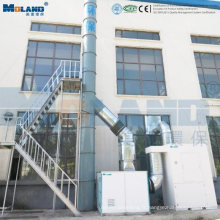 Dépoussiéreur à ventilateur centrifuge pour machines à graver