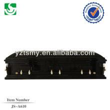 Caixão preto sofá cheio de Londres JS-A610